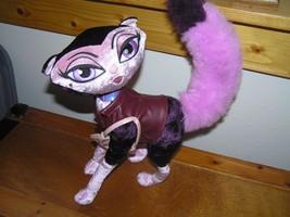 Estate REow Pink & Purple Bratz Fashion Kitty Cat with Bushy Tail Plush Stuffed - $8.59