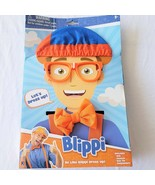 Blippi Roleplay Dress up Costume Hat Glasses Suspenders Bow Tie- Be Like... - $19.79