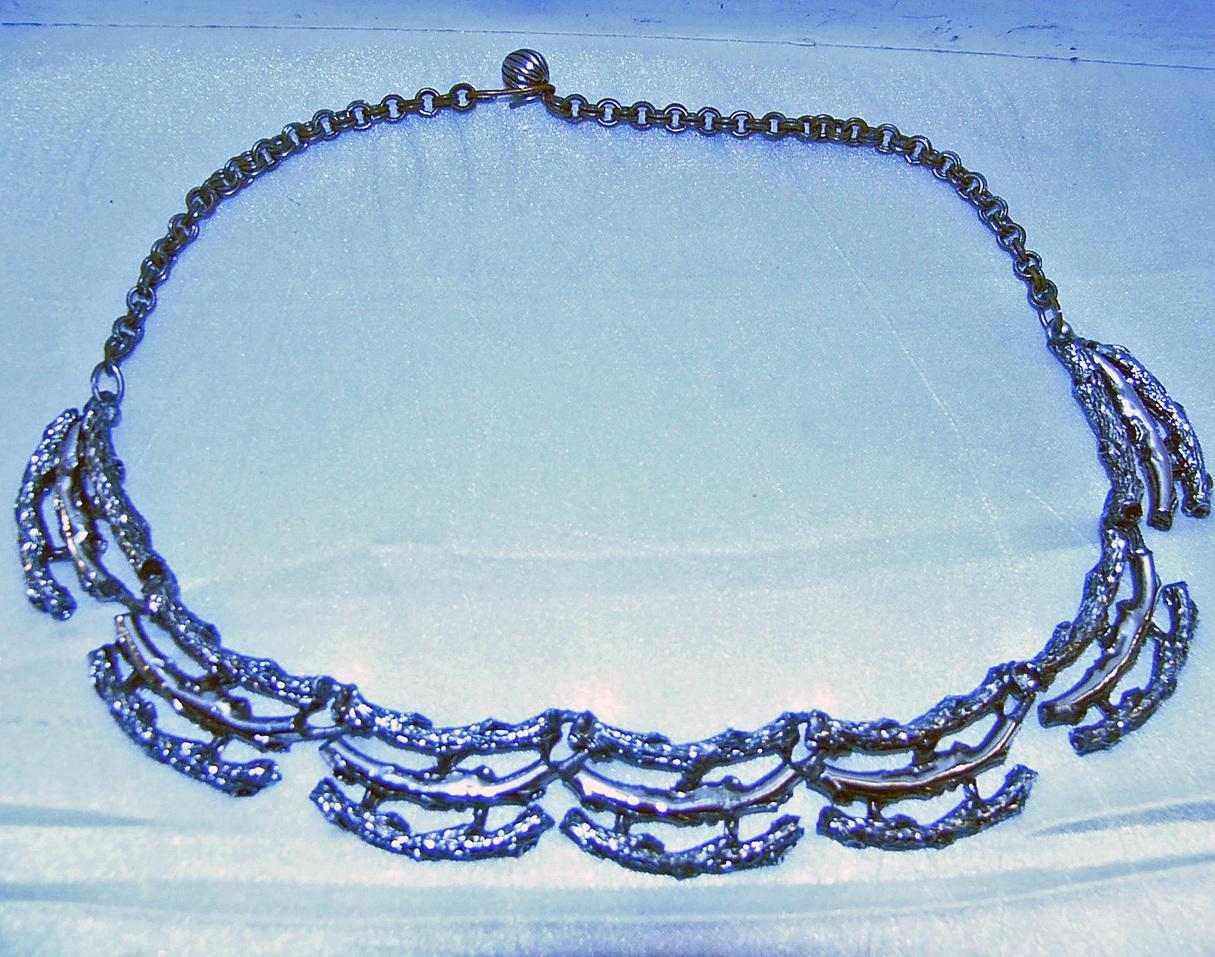 Silver stick necklace4