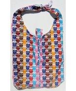 Tootsie Roll Pop Design Custom Made One Piece Adjustable Strap Tote Handbag - $24.95