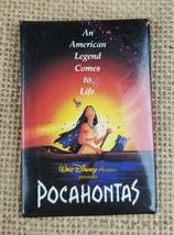 Vintage Walt Disney Pocahontas Promo Botón Pin An American Leyenda Viene To Life - $6.95