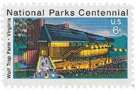 1972 6c Wolf Trap Farm, Virginia, National Parks Scott 1452 Mint F/VF NH - $0.99