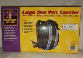 """OUTWARD HOUND """"Legs Out Pet Carrier"""" for Small Pets Under 10 Lbs safe & ... - $19.79"""