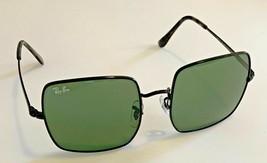 Square Ray-Ban Sunglasses RB1971 9148/31 Black Frame Green G15 Lenses 54mm - $48.70
