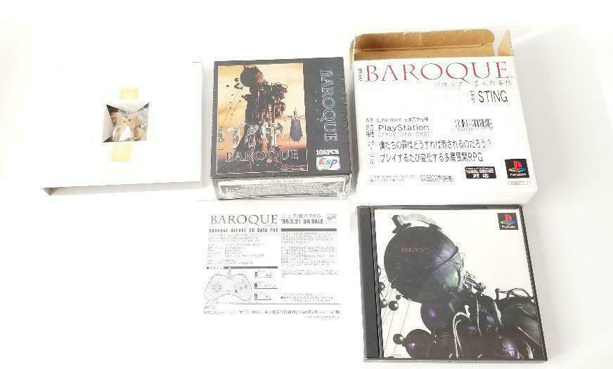 Ps Barroco Distorsionado Delusions Novedad Puzzle Report Sega Angélico Lombrices - $1,159.04