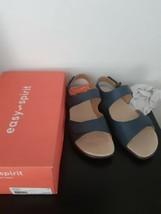 Easy Spirit Hartwell Sandals Light Blue Size 9 W Womens Comfy Walking Open Toe - $59.35