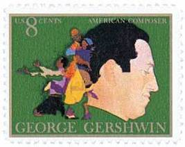 1972 8c George Gershwin, American Composer Scott 1484 Mint F/VF NH - $0.99