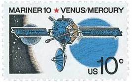 1975 10c Space Mariner 10, Venus & Mercury Scott 1557 Mint F/VF NH - $0.99