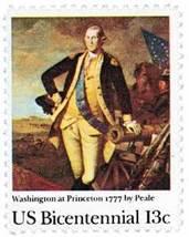 1977 13c Washington at Princeton Scott 1704 Min... - $0.99