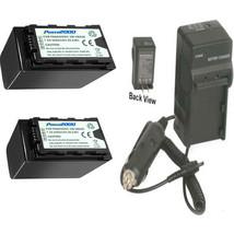 2X Batteries + Charger For Panasonic AG-UX90, AG-UX90PJ8, AG-UX90PJ, AG-UX90EJ, - $59.39