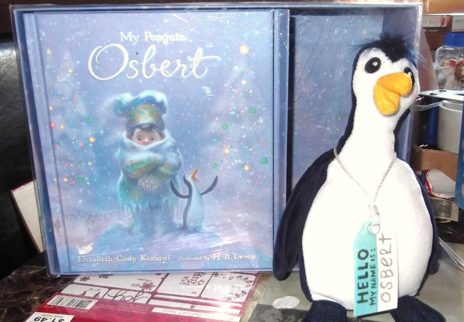 My Penguin Osbert Plush Toy & Book Gift Set - $19.99
