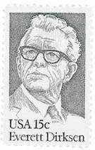 1981 15c Everett Dirksen Scott 1874 Mint F/VF NH - $0.99