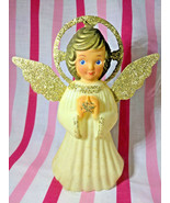 Vintage Double • Glo Angel Tree Topper • Made in Hong Kong - $16.00