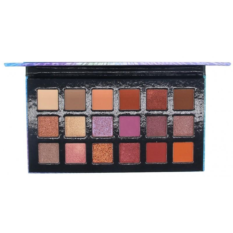 OKALAN Rainbow 18 Color Shadows Palette E059