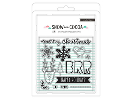 Crate Paper Snow and Cocoa Stamp Set #379157