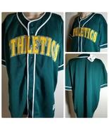 Oakland Athletics A's Camiseta MLB Vintage Verde Equipo Béisbol Talla XL - $104.99