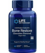 Life Extension Bone Restore Sugar-Free Chocolate, 60 Count - $28.73