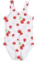 BeautyIn Little Girls Swimwear Cute Fruit Print One Piece Bathing Suit B... - $18.41