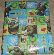 TMNT Teenage Mutant Ninja Turtles Kids Christmas Wrapping Paper 20 SQ FT... - $4.75+
