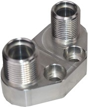 """A-Team Performance Air Conditioning AC Fitting Manifold Kit for SD7 Compressor""""A image 4"""
