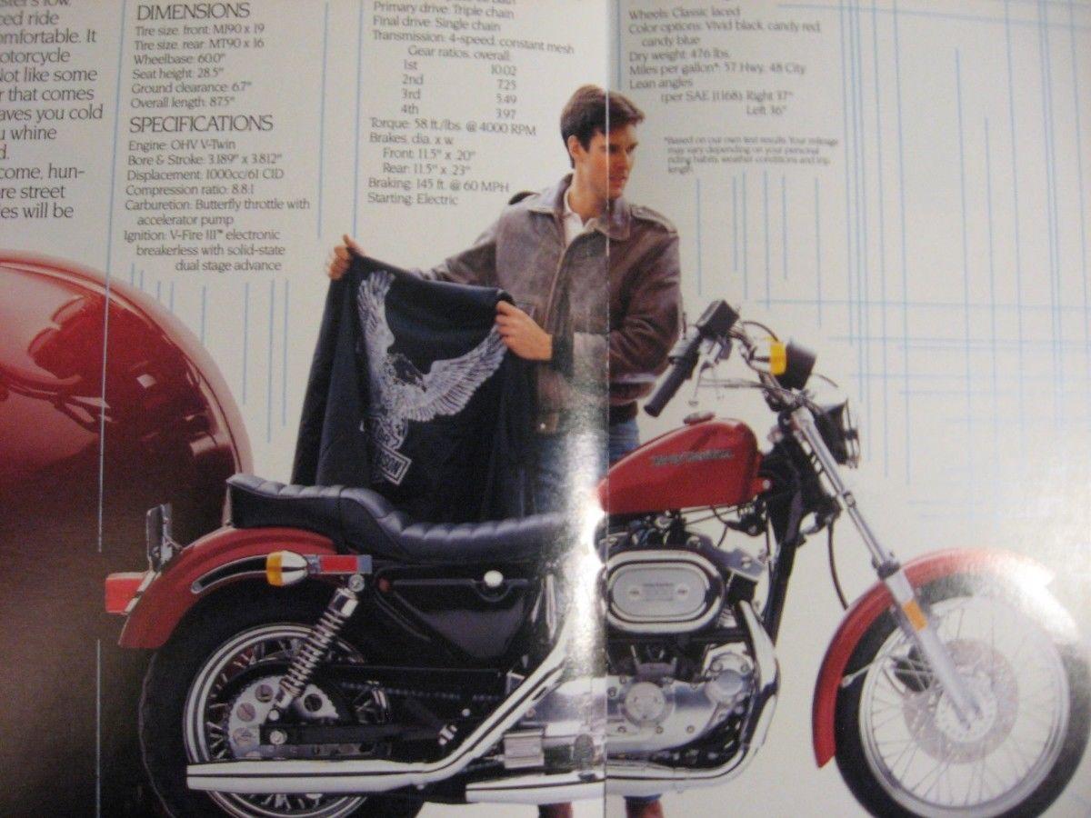 1985 Harley Davidson Brochure Lot (2) and 34 similar items