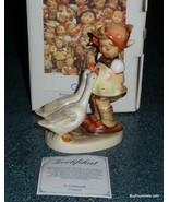 """Goose Girl"" Goebel Hummel Figurine #47/0 TMK7 With Original Box - GREAT... - $203.69"