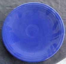 "Vintage Fiesta Cobalt Blue 9.5"" Luncheon Plate - EXCELLENT COND HLC  COL... - $19.79"