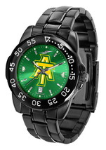 Arkansas Tech University Mens Watch Fantom Gunmetal Finish Green Dial - $67.50