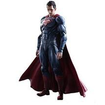 PLAY ARTS Kai Batman v Superman: Dawn of Justice Superman PVC painted ac... - $301.51