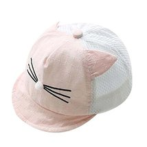 Pink Lovely Sunhat Great Gift Foldable Beach Hat Summer Hat Cotton Hat Baby Cap