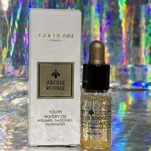 NIB NWT 5mL Guerlain Abeille Royale Youth Watery Oil trial Beautiful Product