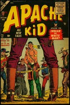 Apache Kid #17 1955- Severin cover- Atlas Western VG - $55.87