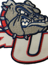 Gonzaga University Bulldogs Embroidered Patch Sew, Iron, VELCRO® Brand back - $7.95+