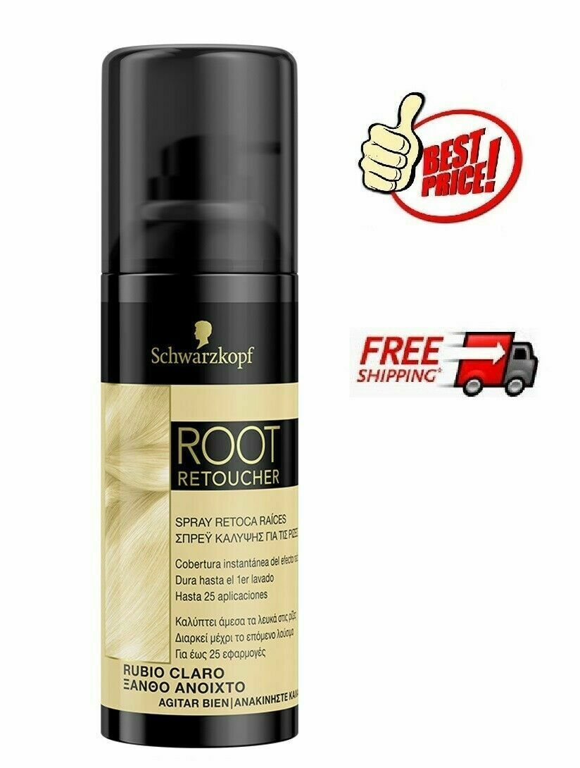 Primary image for Schwarzkopf Root Retoucher LIGHT BLONDE **Root Cover Spray** 120 ml