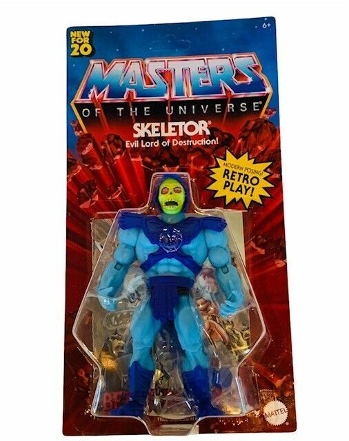 Primary image for Skeletor He-man Masters of Universe Origins Action figure toy Unpunched MOTU NEW