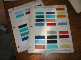 1959 Chevy Dodge Ford GMC Commercial Ditzler PPG Paint Chips - $14.49