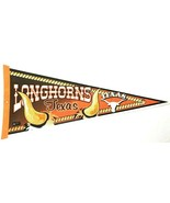 "Texas Longhorns NCAA College Felt 30"" Pennant Vintage Sports Memorabilia - $33.87"