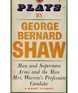 Plays By George Bernard Shaw,Man & Superman,Arms & The Man,Mrs Warren's ... - $3.00