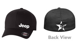 SKULL JEEP  Flex Fit HAT CURVED or FLAT BILL *FREE SHIPPING in BOX* - $19.99