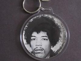 "Rare 1979 Jimi Hendrix Vintage original 3""print to key chain display roc... - $9.99"