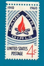 Scott  #1167 Mint US Postage Stamp (1960) 4 cent Campfire Girls - $1.99