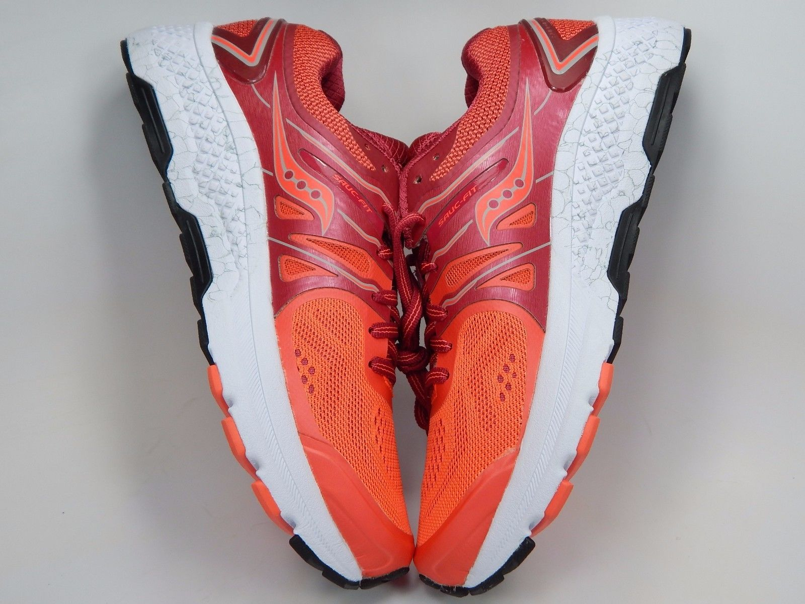 Saucony Omni 16 Women's Running Shoes Size US 8 M (B) EU 39 Berry Coral S10370-2