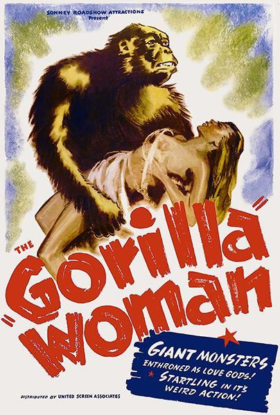 Primary image for Gorilla Woman - 1937 - Movie Poster