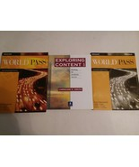 EXPLORING CONTENT, WORLD PASS, PATHWAYS + 3 OTHER READING BOOKS - FREE S... - $32.73