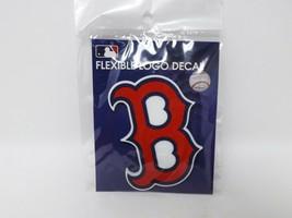 "Win Craft Flexible Logo Decal Rubber Boston Red Sox ""B"" - $8.99"