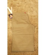 "Dickies Girl's Shorts Stretch Fabric Khaki Uniform Pants Size 5 32"" x 13"" - $12.82"