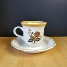 Mikasa Garden Club Imperial Garden Cups and Saucer Set (1 Cup 1 Saucer) ... - $3.22