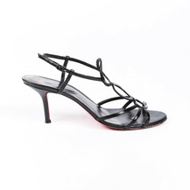 Vintage Christian Louboutin Strappy Patent Leather Sandals SZ 38 - $335.00