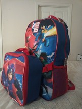 """Big Hero 6 Backpack And Lunch Bag 16"""" - $14.99"""