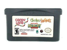 Candy Land, Original Memory Game, Chutes Ladders Nintendo Game Boy Advance - $3.95